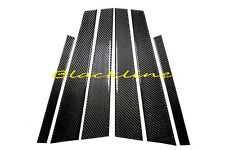 10~16 Mercedes-Benz E Class W212 Carbon Fiber Door Trim Pillar Panel 250 350 500