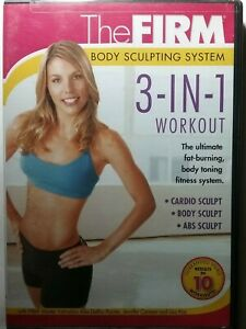 The Firm: Body Sculpting System DVD 3-in-1 Workout