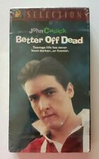 Better Off Dead Brand New Vhs Tape John Cusack >>>We Take Ebay Best Offers<<<