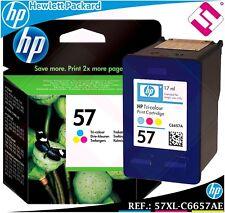 Tricolour ink 57 xl original printer hp deskjet officejet pro color cartridge