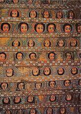 BG14164 painting on ceiling of debre berhan selassie church in gondar ethiopia