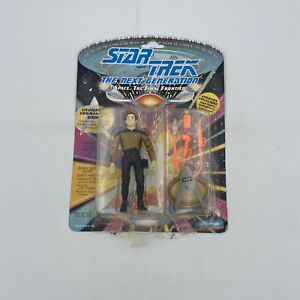 Data Lt Comm 1st Edition Playmates 1992 Star Trek Next Gen Sealed Figure damaged