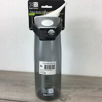 Karrimor 800ml Bite Bottle Hydration Sports Outdoors BPA Free Charcoal S112