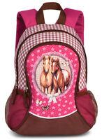 Fabrizio Rucksack Pferd pink rosa Kinderrucksack Freizeitrucksack 550