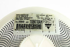 2000x 10uF 10V 10% SMD Solid Tantalum Surface Mount Chip Capacitors DC Molded