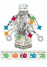 30th, 40th, 50th, 60th, 70th Birthday Celebrate in Style Table Centerpiece