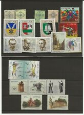 More details for lithuania 2006 one miniature sheet, and 20 stamps  all mnh