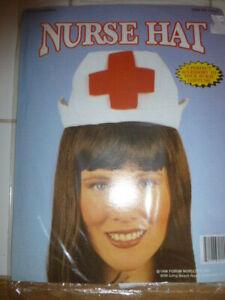 Nurse Hat Ideal Fancy Dress Add-on Hen Night