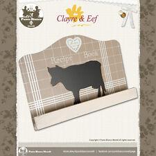 CLAYRE & EEF   61094   Leggio - Cook book Holder   Shabby chic