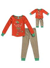 Dollie & Me Girls' Apparel Snug Fit Sleepwear Set With Matching Doll Size 8