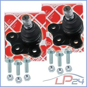 2X FEBI KIT DE RÉPARATION ROTULE DE SUSPENSION AVANT OPEL ASTRA G H MERIVA B