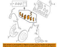 SUBARU OEM 93-03 Impreza Brake-Shoe 26298AA040