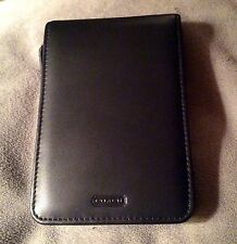 COACH PALM PDA LEATHER CASE BLACK ZIP AROUND  NWOT
