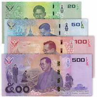THAILAND 20 50 100 500 Baht COMMEMORATIVE SET 4 PCS 2017 P-130 131 132 133 UNC