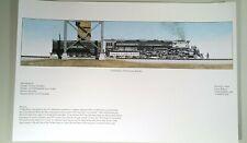Railroad Art Union Pacific 4014 Big Boy 3985 Challenger 844 Golden Spike set