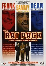 The Rat Pack Live From Las Vegas DVD Music Video & Concert UK Release New Sealed