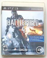 Battlefield 4 - Sony PlayStation 3 ps3 Brand New Factory Sealed - FREE Shipping