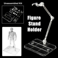 SHF 1/144 Action Figure Base Stand Holder Display Fit For HG RG SD Gundam Model