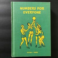 Iroquois Publishing Sample Math Textbook Numbers For Everyone Vtg 1953 Business