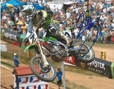 BUBBA STEWART - MOTOCROSS AUTOGRAPHED PICTURE SIGNED 8X10 PHOTO REPRINT