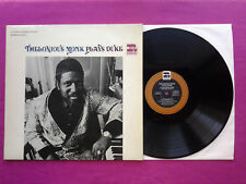 Vinyl LP 33T / Thelonious Monk ‎– Plays Duke / UK 1969 / 673014 / VG+