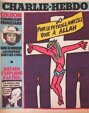 CHARLIE HEBDO No 472 NOVEMBRE 1979 GEBE POUR LE PETROLE ADRESSEZ VOUS A ALLAH