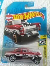 Hot Wheels Speed Graphics - '55 Chevy Bel Air Gasser - 1:64 CUSTOM