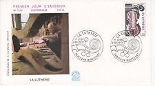 Enveloppe 1er jour FDC n°1147 - 1979 : Métiers d'Art La Lutherie