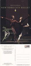 2002 NEW YORK CITY BALLET UNUSED ADVERTISING COLOUR POSTCARD (a)