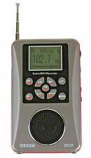 DEGEN DE28 Rechargeable AM FM ShortWave Radio Voice Recorder MP3 Player