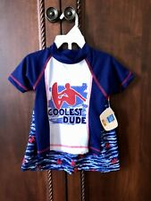 New with tags Lily & Dan Swimset boys size 2T