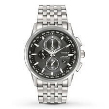 Citizen Eco Drive AT8110-53E Mens Radio Controlled World Time Chronograph Watch