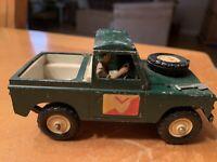 Vintage Britains LTD 1975 Pressed Steel Mini Pickup Truck Very Rare! Man Inside
