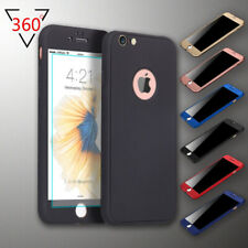 360° Shockproof Full Tempered Glass Case Cover For iPhone X XS Max XR 8 7 6 Plus