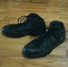 NIKE Melo M7 Jordan Jumpman LN4 Basketball Shoes Size US 16 Black Sneakers EUC