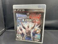 PLAYSTATION 3 PS3 WWE SMACKDOWN VS RAW 2011 COMPLETE GAME