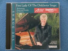 Yamaha Disklavier PianoSoft Plus Original Artist Sue Downs Sings  CD