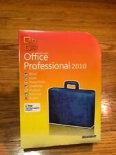 Microsoft Office Professional 2010 Brand New! For 3 computers version