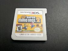 New Super Mario Bros 2 Not For Resale Nintendo 3DS NRMT condition NFR cartridge