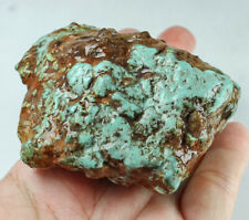 583.5Ct Natural High-hardness American Green Blue Turquoise Rough Specimen YBL61
