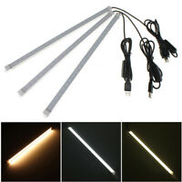 USB 35CM 7W 24 SMD 5630 LED Rigid Strip Hard Bar Light Tube Lamp DC 5V Camping