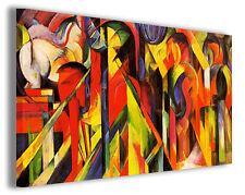 Quadro moderno Franz Marc vol XXI stampa su tela canvas pittori famosi