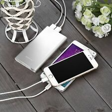 10,000mAh Dual-Port Portable Charger External Battery Power Bank for iPhone iPad