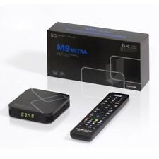 Medialink M9 Ultra 8K 4K UHD Dual WiFi Bluetooth Android 9 Linux IP Mediaplayer