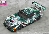 Good Smile Racing Minicar 1/43 Hatsune Miku # 6 Mercedes-AMG Team Black Falcon