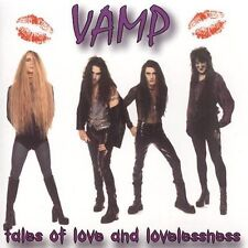 Tales of Love and Lovelessness by VAMP (CD/SEALED - Perris Records 2002) GLAM