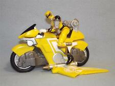 Power Rangers Ninja Storm Amarillo Planeador ciclo con Ranger