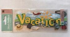 "Jolee's Boutique ""Vacation"" Title Wave Dimensional Sticker"