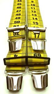 No.1 die feschen Hosentraeger,4 extra starke ABC-Klips,35mm breit,Blitzversand