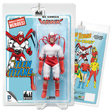 DC Comics Teen Titans Mego Style Hawk Action Figure